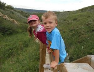 Hiking with kids in Calgary: Waterfall Valley