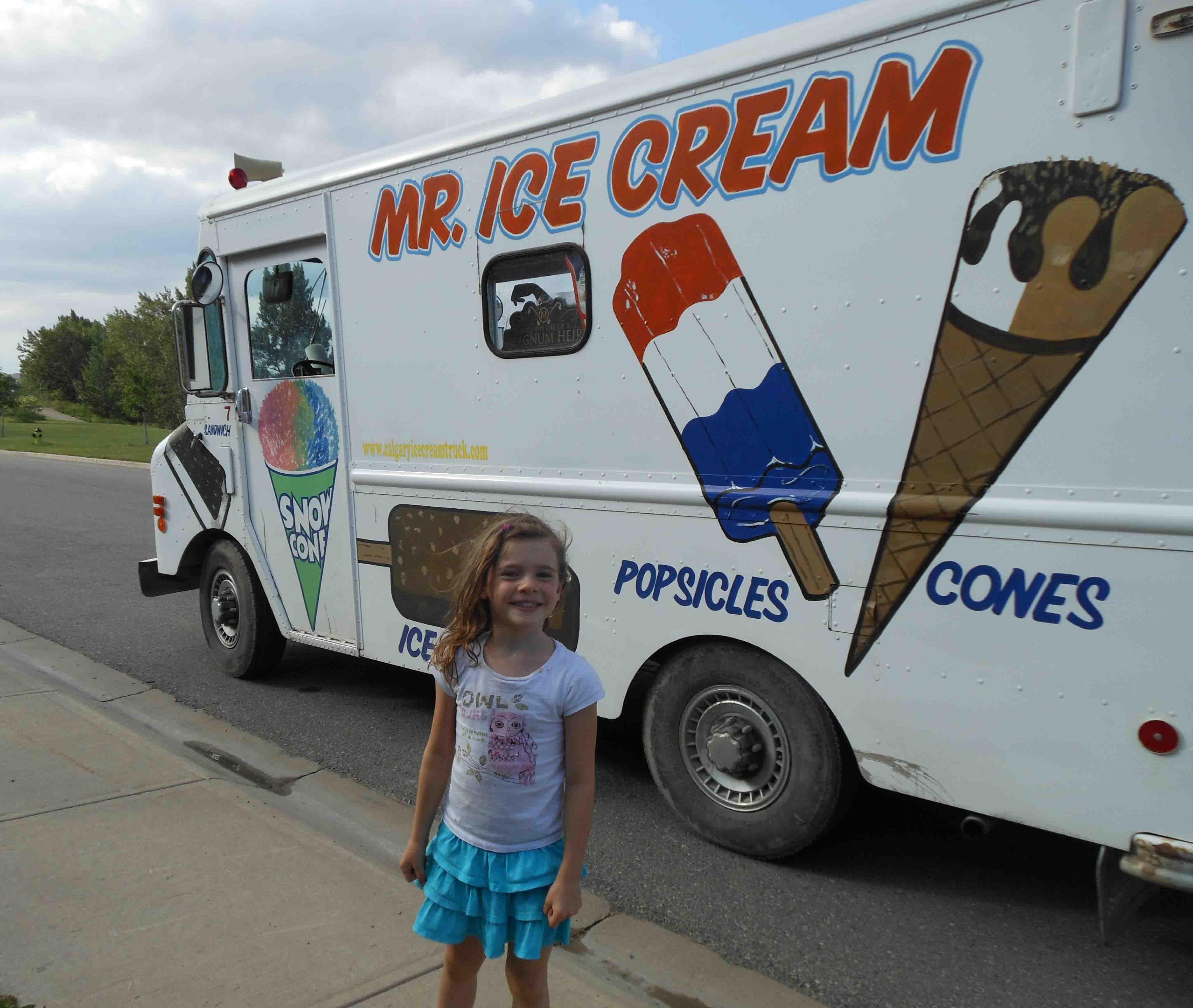 Ice cream truck song lyrics