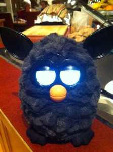 Playdates with Zoe's Furby will be a reality in 2013.