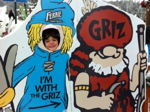 She is with The Griz!