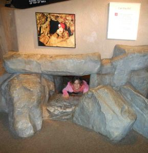 Kartchner Caverns cave tour with kids: un-fun