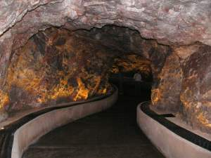 So OCD are cavern officials, you can't even touch man-made stuff en route to the caves.