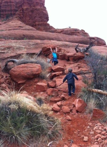 Hiking the Bell Rock trail in Sedona, Ariz. is a baby step toward realizing the travel dreams on our family-travel bucket-list.