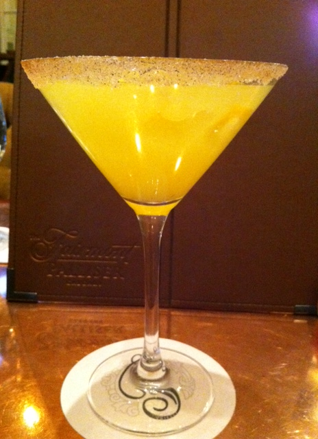 It's like a margarita with orange juice. I like it.