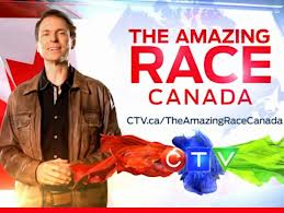 Canadians finally get to compete on the Amazing Race -- in Canada.