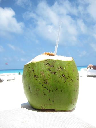 This is how they serve them in the Caribbean. In Canada, a wine glass works fine.