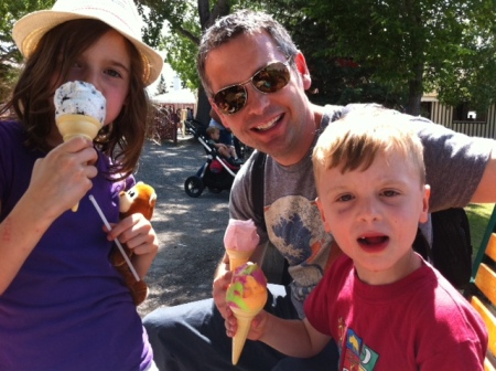 Three cheers for chilly cones from Vulcan Ice Cream Parlour at Heritage Park.