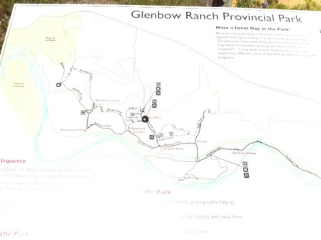 Make sure you have a trail map to navigate the park, as paths are not marked.