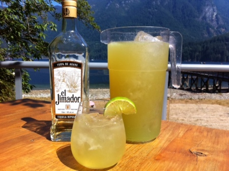 Beer + tequila + limeade = instant beach party.