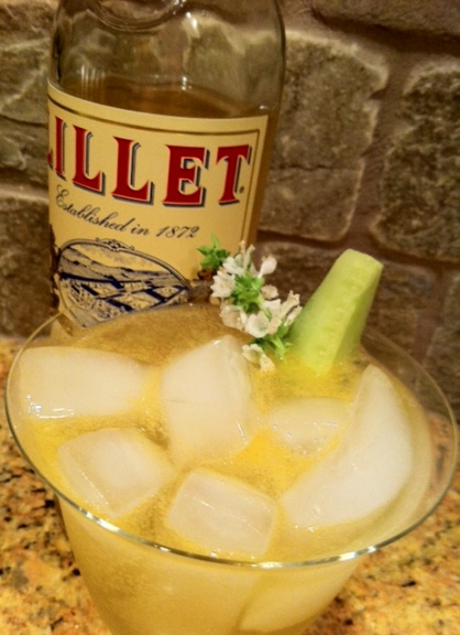 It's all about the Lillet in this refreshing sip.