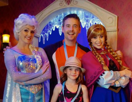 Frozen Elsa and Anna are hot for my hubby, natch.