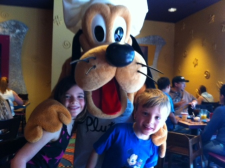 Forget princesses, says Avery. Pluto is where it's at!