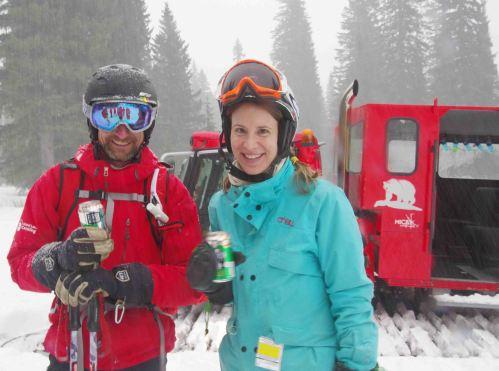 Island Lake Lodge apres-ski