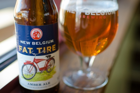 All hail Fat Tire! My favourite amber ale from my home state is now available in my home province.