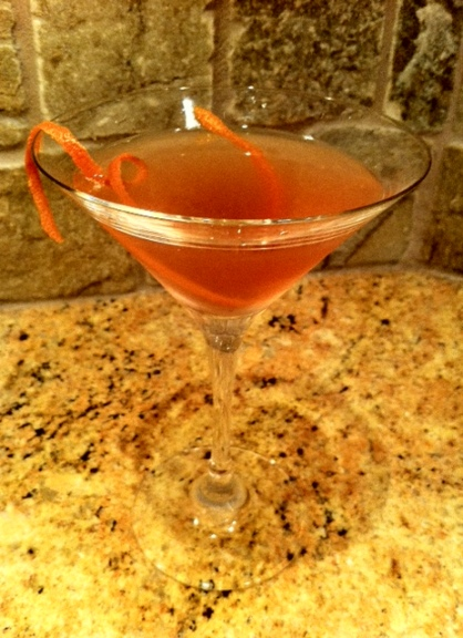 A Cosmo tasty and red. Important considerations when cheering on Team Canada.