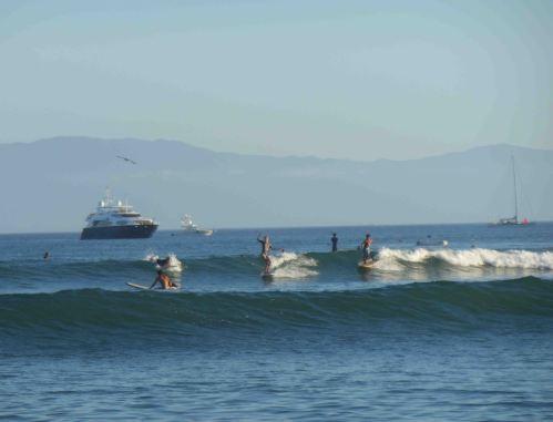 Punta Mita surfers