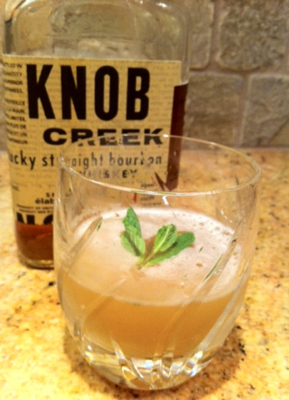 The Lawnmower is a strong, sour and spicy sip that will leave you yearning for spring.