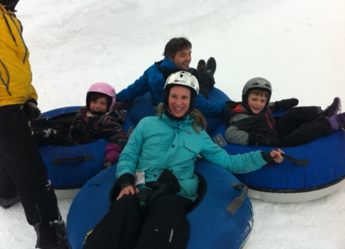 The tubing park at Mount Norquay is awesome.