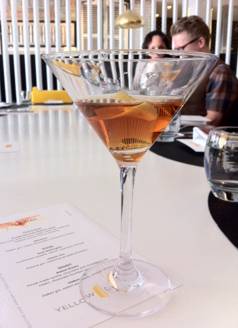 The Martinez is rather like a sweet Manhattan, with gin and a touch of maraschino liqueur.