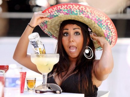 All you need for your Cinco de Mayo party is a giant sombrero and a margarita or a Corona (or both, like Snooki).