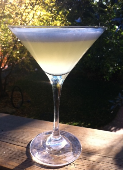 In my opinion, adding egg white to the classic daiquiri smooths out its edges and helps the flavours co-mingle.