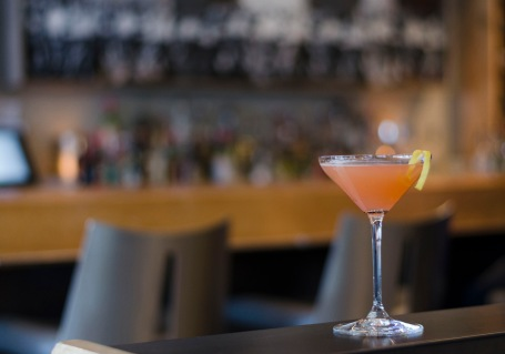 Today's featured drink during Cocktails for Charity week at Bar C is the bubbly French 68.