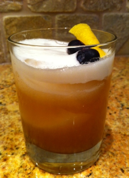 Smooth, sweet and Amaretto Sour.