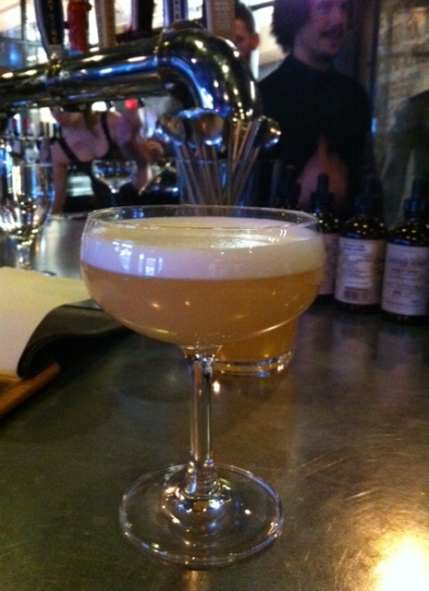 The Buckskin Sour isn't just beautiful in the glass, it's delicious to drink.