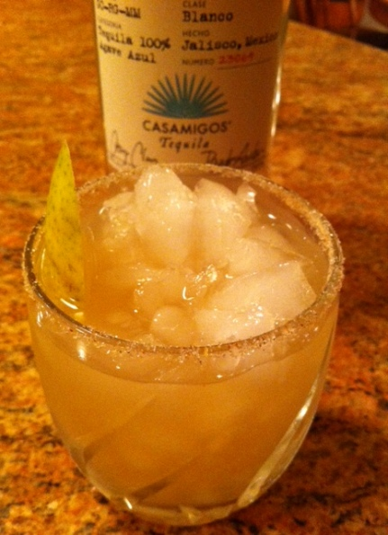 Elderflower Pear Margarita