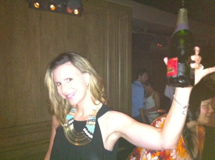 "The closest I will ever get to hoisting an ""Oscar,"" a.k.a. the official champagne of the Academy Awards."