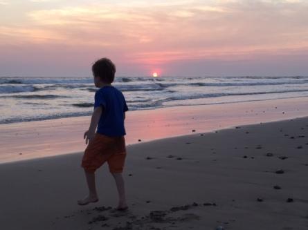 Another beautiful Costa Rica sunset.