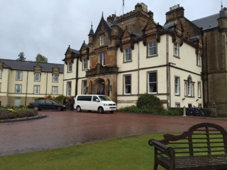 This posh yet casual hotel on the shore of Loch Lomond oozes Scottishness.