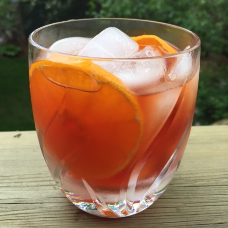 Switch out the gin and stir in tequila for a fun twist on a classic Negroni.