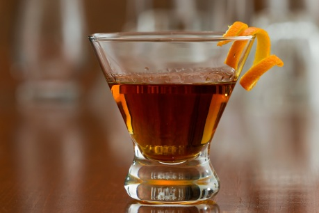 A Father's Day cocktail that combines scotch with orange liqueur. Photo courtesy Cornelia Guest Events.