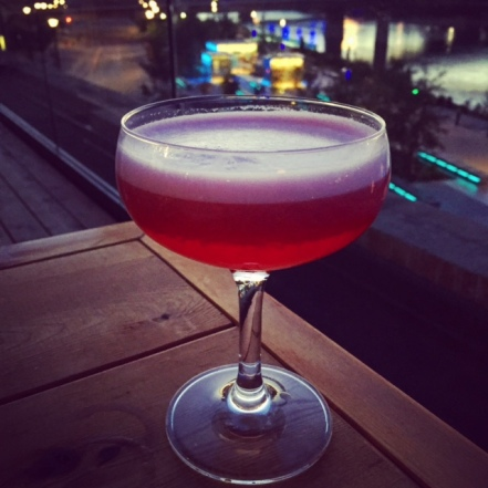 The Clover Club is kind of like a gin sour… with raspberries.
