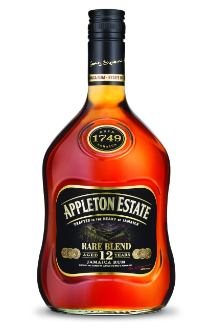New packaging and naming on the Appleton Estate Rare Blend 12 Year Old rum.