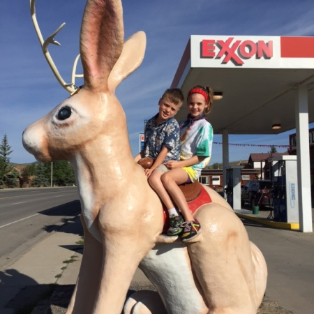 Yes, you can ride the jackalope!