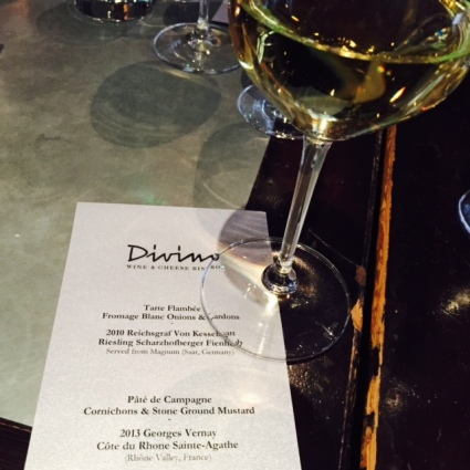 Divino's new happy hour program pairs cellar sips with delicious nibbles.