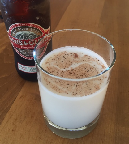 "Who knew Innis & Gunn oak-aged beer would make such a delicious base for a ""beernog""?"