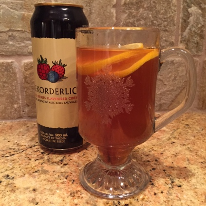 This warm spiced drink is just what the doctor ordered after a frolic in the snow.