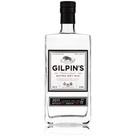 Gilpin's is a handcrafted, small-batch gin that tastes great in a rage of gin cocktails.