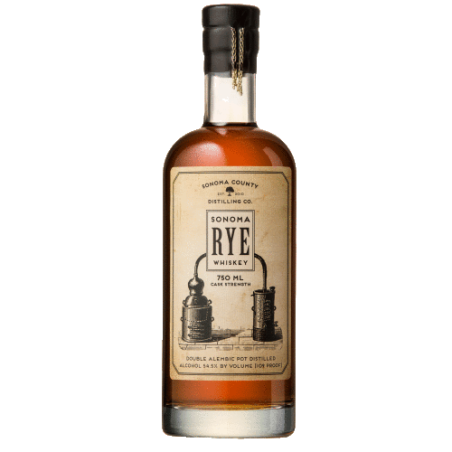 Don't let Sonoma Rye Whiskey's 98 proof label dissuade you. This 100 per cent rye whiskey is sweet, spicy and scrumptious.