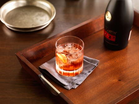 Mount Gay Black Barrel Rum is a great edition to this twist on a classic Old Fashioned. Image courtesy Fairmont Hotels & Resorts.