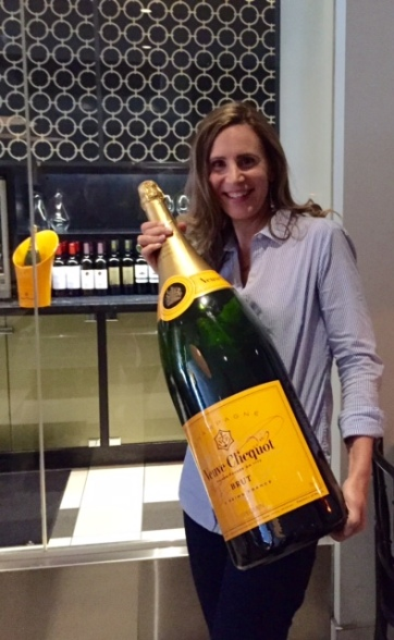 Who can say no to a bottle of Veuve Clicquot? Clearly not I.