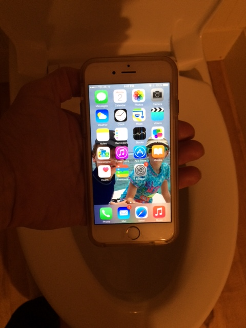 on sale 674f1 5b150 I dropped my iPhone in the toilet | Drink - Play - Love