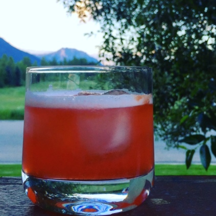 Canada Day calls for a red and white cocktail. The Aperol Sour is perfect!