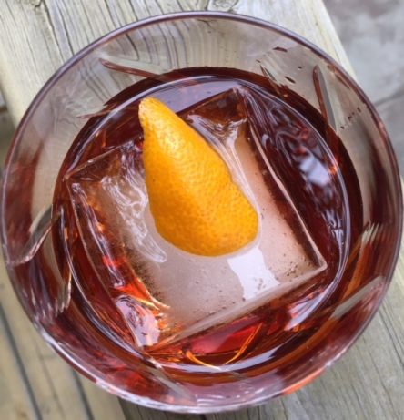 This Tequila Negroni is spirit forward -- perfect for Father's Day.