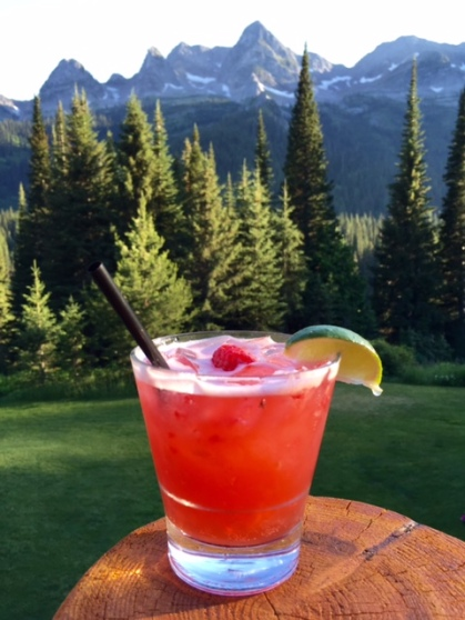 Beat the heat with this spicy cooler -- aptly named a Long Hot Summer -- from Island Lake Lodge.
