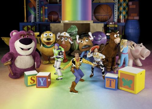 The gang from Toy Story 3. Image courtesy Disney On Ice.