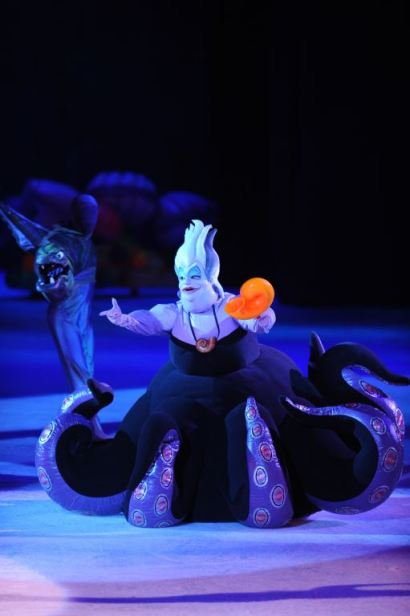 Best costume of the show, worn extremely well by Ursula.